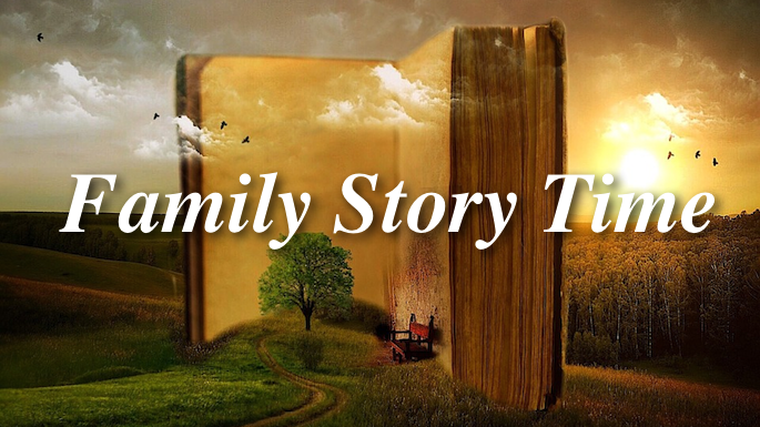 Family Story Time Banner