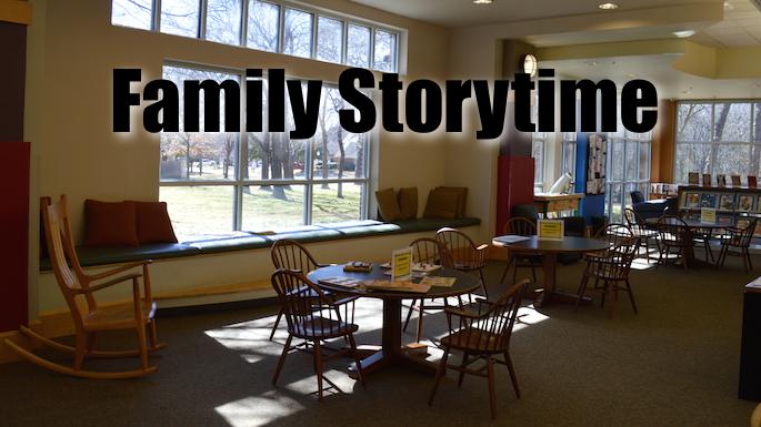 Family Storytime Flower Mound Banner