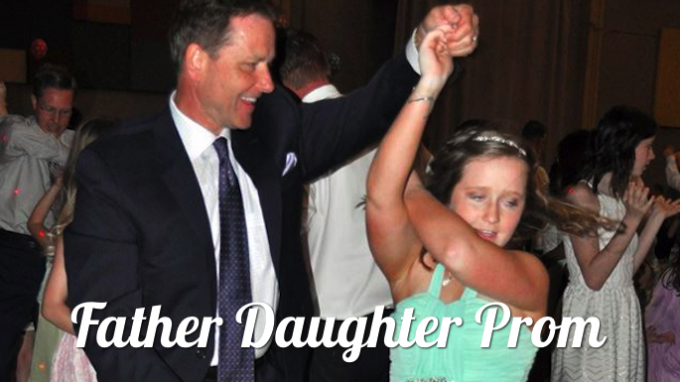 Father Daughter Prom Flower Mound