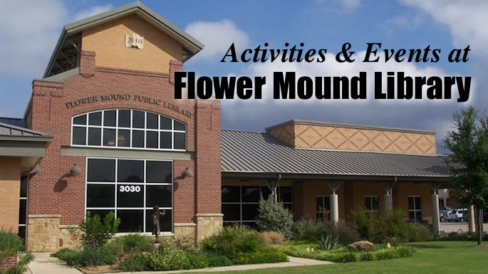 Flower Mound Library Banner