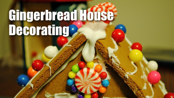 Gingerbread House Decorating in Flower Mound