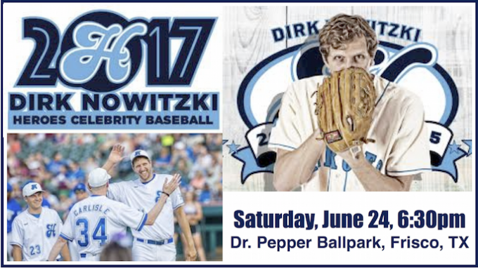 Heroes Celebrity Baseball Game @ Dr Pepper Ball Park