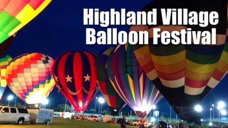 Highland Village Balloon Fest