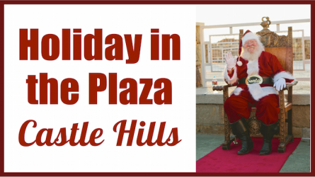 Holiday in the Plaza at Castle Hills