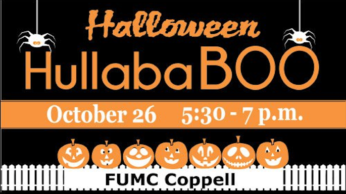 Halloween HullabaBOO @ First United Methodist Church of Coppell