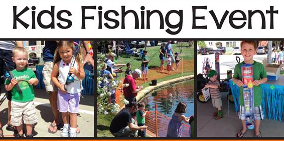 Kids Fishing Event in Bartonville