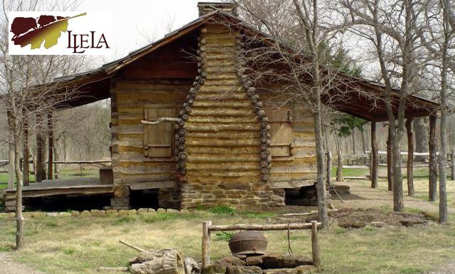 LLELA Log Cabin Banner