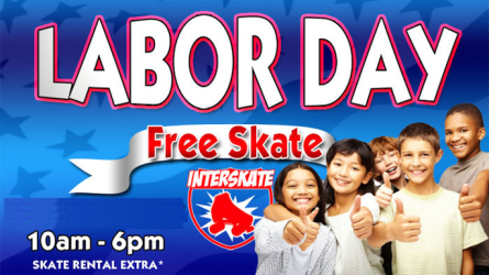 Free Skating on Labor Day in Lewisville