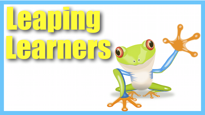 Leaping Learners Banner