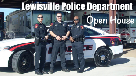 Lewisville Police Department Open House