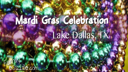 Mardi Gras in Lake Dallas