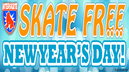 Free Roller Skating on New Years Day