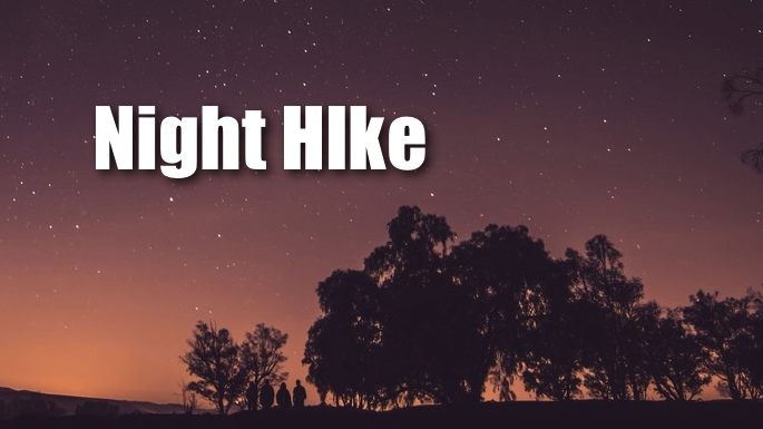 Night Hike Banner