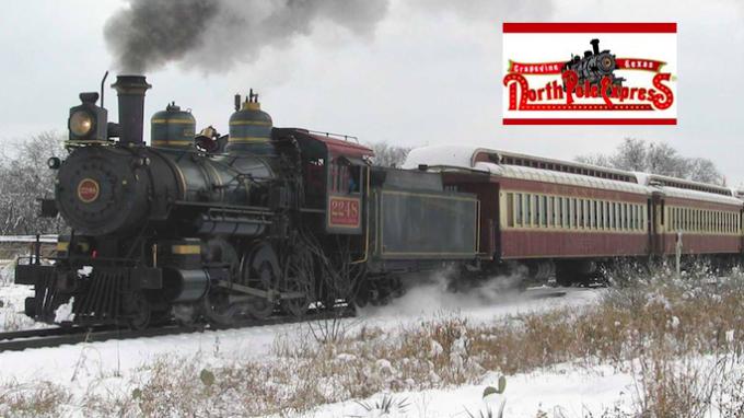 North Pole Express in Grapevine @ Grapevine Train Depot