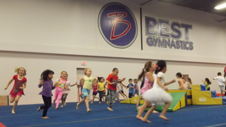 Open Gym at Best Gymnastics