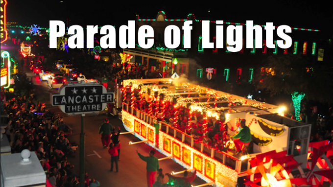 Parade of Lights in Grapevine