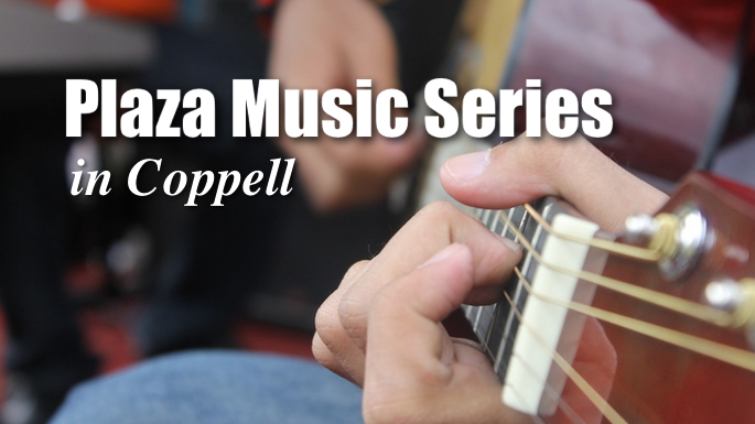 Plaza Music Series Coppell Banner