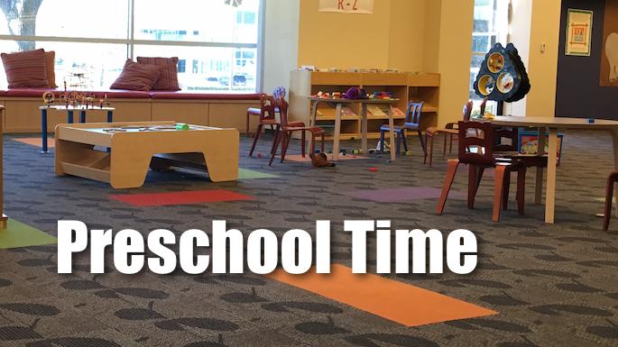 Preschool Time Banner