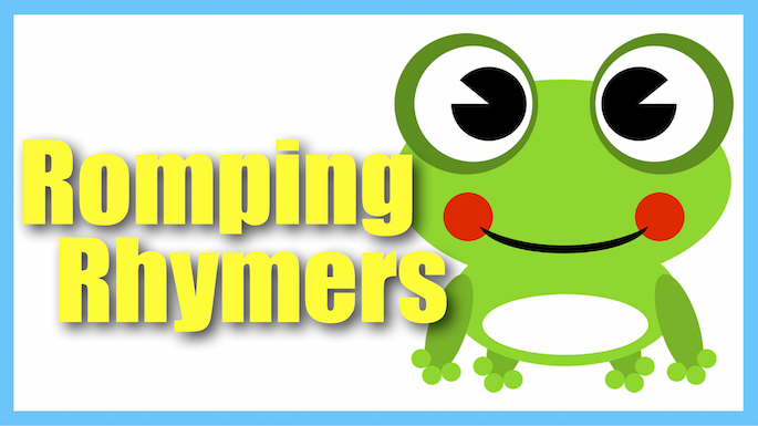 Romping Rhymers Banner