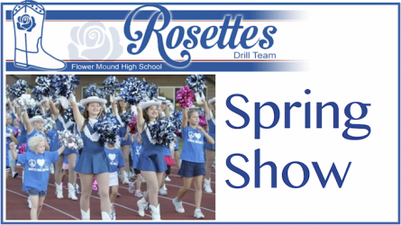 FMHS Rosettes Spring Show