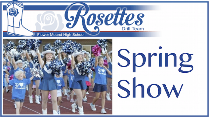 FMHS Rosettes Spring Show @ Flower Mound High School