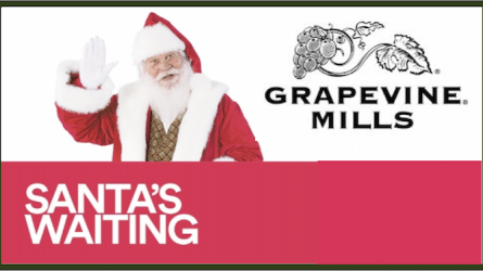 Santa at Grapevine Mills Mall