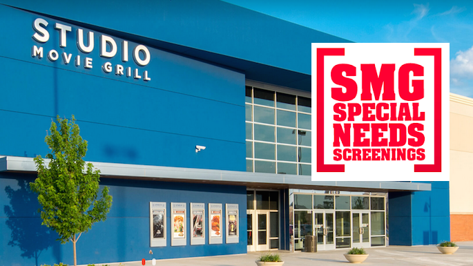 Studio Movie Grill Special Needs Movie Screenings