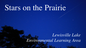 Stars on the Prairie @ Lewisville Lake Environmental Learning Area (LLELA)