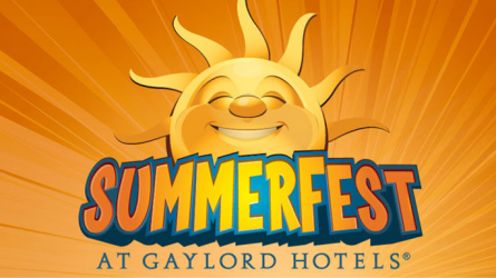 Summer Fun at Gaylord Texan