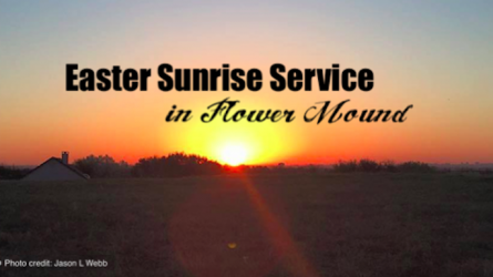 Easter Sunrise Service Flower Mound