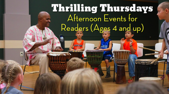 Thursday Fun at Flower Mound Library @ Flower Mound Library