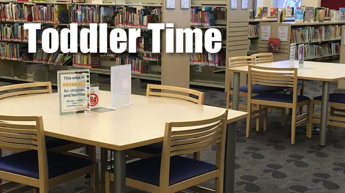 Toddler Time Banner