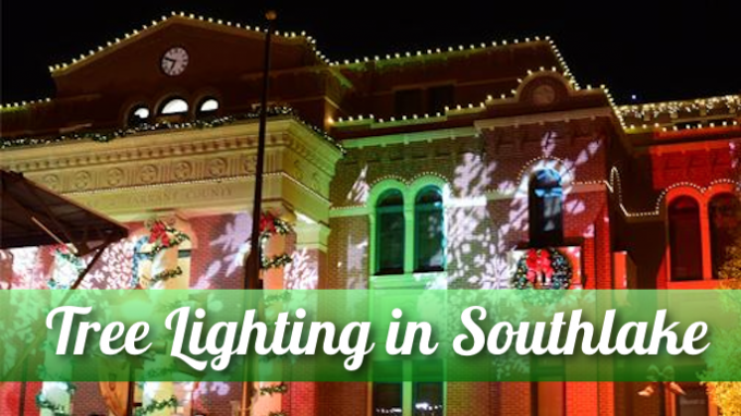 Tree Lighting in Southlake