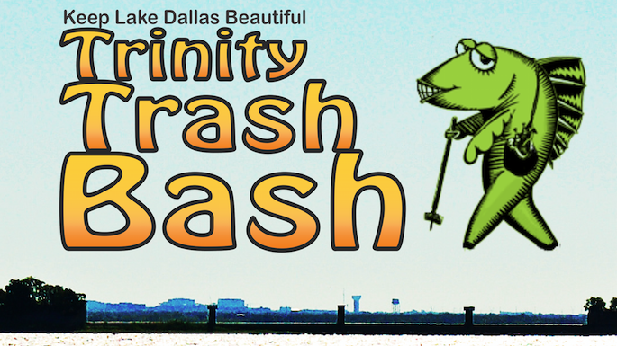 Trash Off Lake Dallas