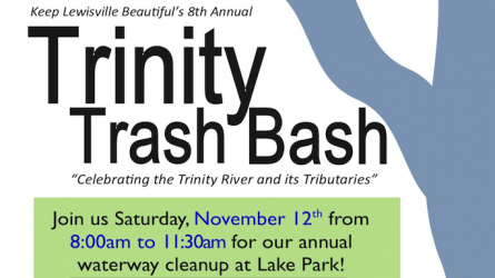 Trinity Trash Bash Lewisville Lake