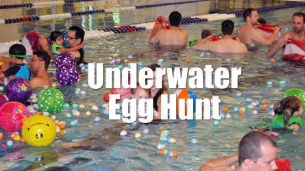 Underwater Easter Egg Hunt in Flower Mound