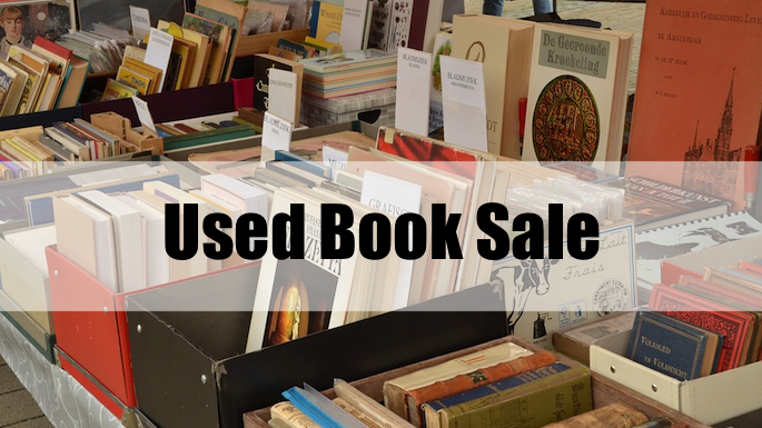Used Book Sale Banner