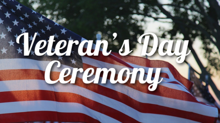 Veterans Day Ceremony in Flower Mound