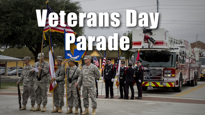Veterans Day Parade Grapevine