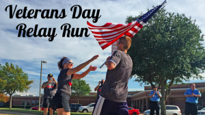 Veterans Day Relay in Flower Mound @ Flower Mound CAC