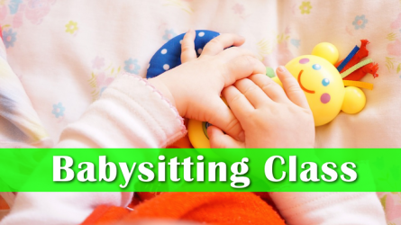 Child Care Babysitting Class in Lewisville