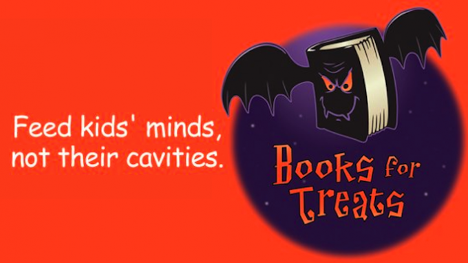 Books for Treats @ Both Carrollton Library Locations