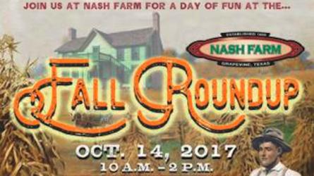 Fall Roundup Nash Farm Grapevine Texas