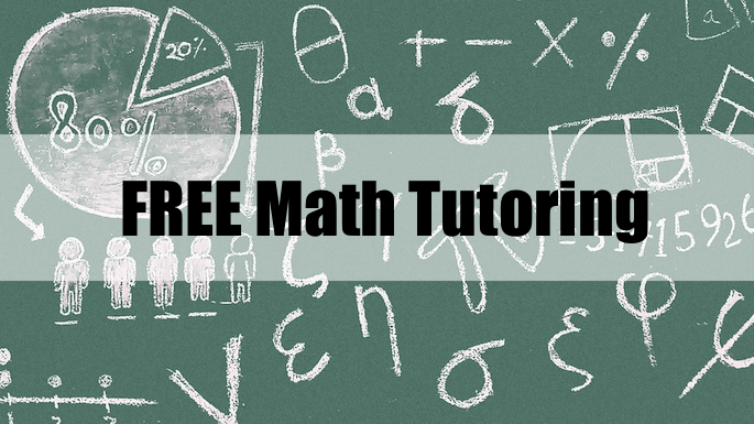 Free Math Tutoring Banner
