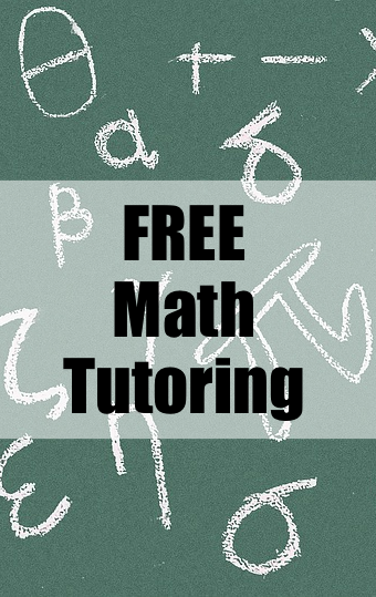 Free Math Tutoring Pin