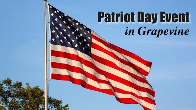 Patriot Day Event Grapevine Banner