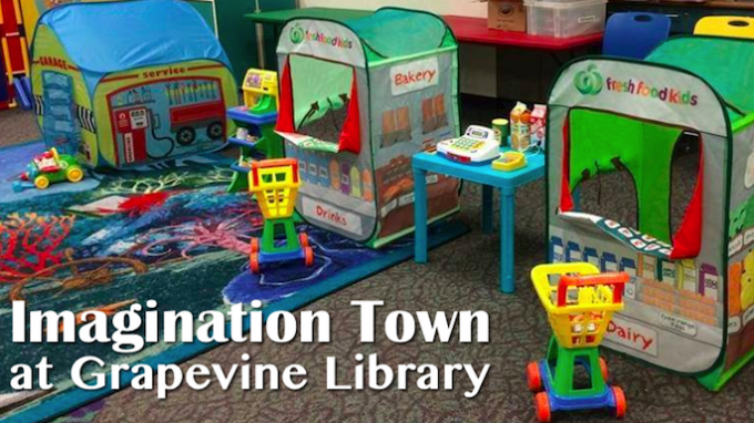 Imagination Town Grapevine Library @ Grapevine Library