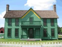 Farm House on the Grapevine Prairie
