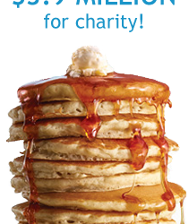 National Pancake Day at IHOP