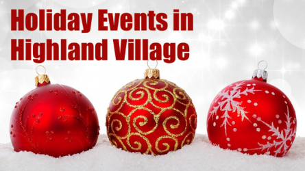 Holiday Events Highland Village